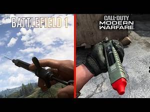 Call of Duty Modern Warfare Vs Battlefield 1 - Attention to detail
