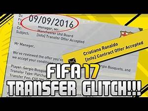FIFA 17 CAREER MODE TRANSFER ANYTIME GLITCH! | FIFA 17 TIPS AND TRICKS!