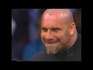 GOLDBERG PROMO ON BAM BAM BIGELOW + NITRO GIRLS (WCW MONDAY NITRO 01/02/1999)