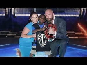 """Jarrius """"Little JJ"""" Robertson is named a WWE Hero"""