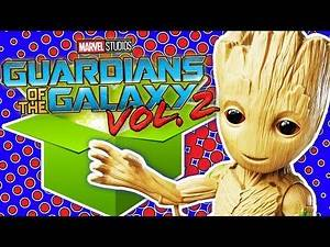 GIANT Guardians of the Galaxy UNBOXING! Dancing Baby Groot Rocket Raccoon ~ pocket.watch jr.