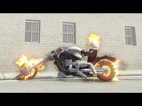 Ghost Rider and Ghost Rider Bike - LEGO Marvel Super Heroes