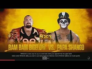 [WWE 2K19] Bam Bam Bigelow vs. Papa Shango (PC 4K 60 FPS)