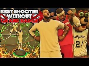 NBA 2K17 MyPARK - EPIC 3PT SHOOTOUT!! BEST SHOOTER WITHOUT GRAND BADGE!!