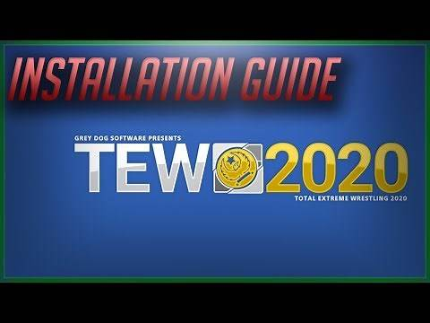 Total Extreme Wrestling 2020 Demo Release and Installation Guide