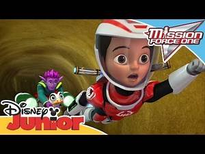 Mission Force One | Connect and Protect: Sand Trap | Official Disney Channel Africa