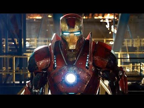 Iron Man vs Killian Final Battle - Mark 16, Mark 40 Suit Up-Iron Man 3 (2013) Movie CLIP HD
