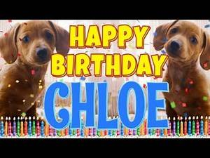 Happy Birthday Chloe! ( Funny Talking Dogs ) What Is Free On My Birthday