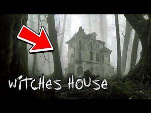 ABANDONED WITCHES HOUSE AT 12:00AM (HAUNTED FOREST)