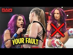 The SECRET Sasha Banks Injury That WWE is Keeping On The Down Low is Finally Revealed - WWE RAW