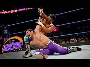 Humberto Carrillo vs. Angel Garza: WWE 205 Live, Sept. 24, 2019