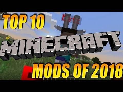 TOP 10 BEST MINECRAFT MODS OF 2019!