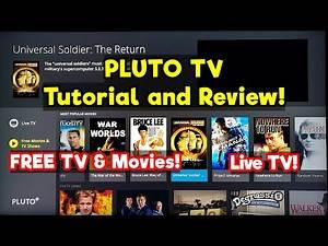 Pluto TV Tutorial and Review on Samsung RU7100 Smart TV 4K in 2020! Free Movies & TV Shows!