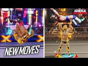 New Moves Added In WWE 2K Battlegrounds! (11.00 Update)