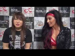 Io shirai and Santana Garret vs mayu iwatani and kairi Hojo