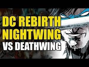 Nightwing vs Deathwing (Nightwing Rebirth: Nightwing Must Die)
