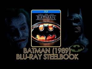 Batman (1989) Blu-ray Steelbook | Michael Keaton | Tim Burton | Unboxing