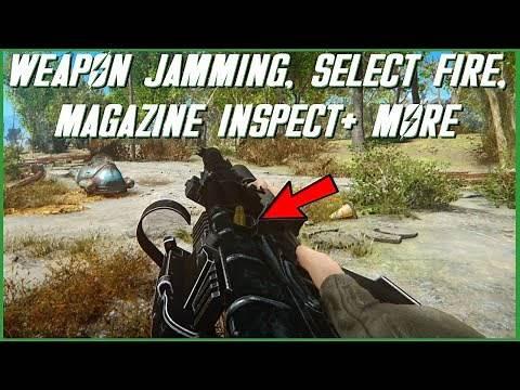 Immersive Gunplay Mechanics in Fallout 4! : The Weapons Framework Mod (PC)