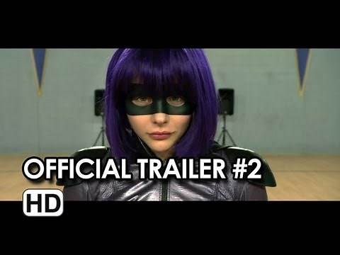 Kick-Ass 2 Official Theatrical Trailer #2 (2013) - Chloe Moretz Movie HD