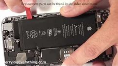 iPhone 6 Plus Battery Replacement in 4 Minutes