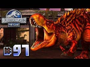 T.Rex Fights Back! || Jurassic World - The Game - Ep 97 HD