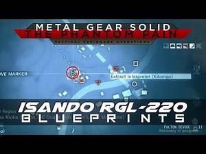 MGSV: The Phantom Pain ISANDO RGL-220 Weapon Blueprint Location Guide