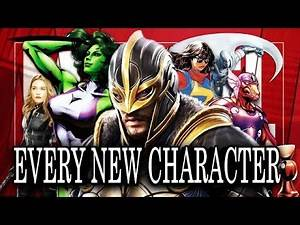 EVERY NEW MCU CHARACTER IN MARVEL PHASE 4 - Confirmed and Rumored
