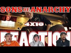 """SONS OF ANARCHY SEASON 4 EPISODE 10 REACTION """"HANDS"""""""