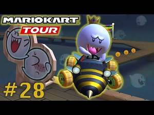 Unlocked Queen Bee from the Tour Gift - Mario Kart Halloween Tour Part 28