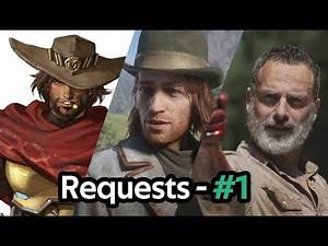 Red Dead Online   Requests from Subscribers #1 (Rick Grimes, Sean MacGuire, Jesse McCree & more)