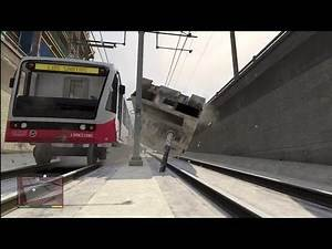 GTA5: Tank vs Trains, Trams and More!