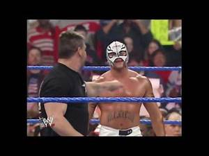 Rey Mysterio & Eddie Guerrero vs Doug Basham WWE SmackDown 17/02/2005
