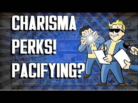FALLOUT 4 - Charisma Perks Allow Pacifying (and Commands)