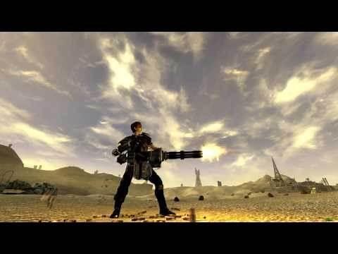 Fallout: New Vegas minigun long wind-up mod
