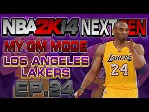 NBA 2K14 Next Gen My GM Mode Ep.24 - Los Angeles Lakers   PLAYOFFS   GAME 4   Xbox One Gameplay