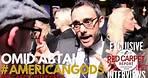 "Omid Abtahi ""Salim"" interviewed at the premiere of Starz ""American Gods"" Original Series"
