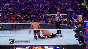 WWE WrestleMania 33: John Cena & Nikki Bella vs. The Miz & Maryse