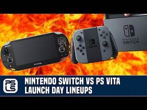 Versus - Nintendo Switch vs. PlayStation Vita Launch Day Lineups