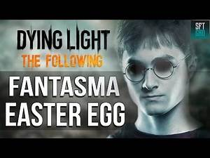 Dying Light The Following - Harry Potter & ghost Easter egg , painting location