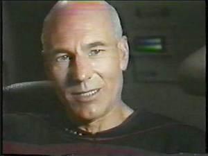 Patrick Stewart Star Trek The Next Generation Pre air Interview