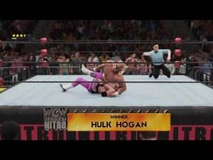 "WWE Legendary Matches - Hulk Hogan vs Bret ""Hitman"" Hart - Nitro - 28/9/1998"