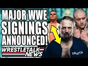WWE Want Sting RETURN?! MAJOR WWE Signings Announced! | WrestleTalk News