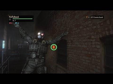 Resident Evil: Revelations 2 - Raid mode as Hunk
