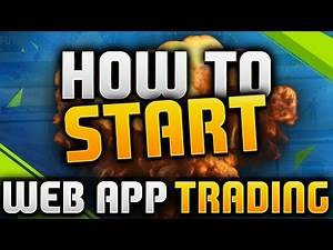 FIFA 16   WEB APP TRADING - HOW TO START (HOW TO MAKE YOUR FIRST COINS)