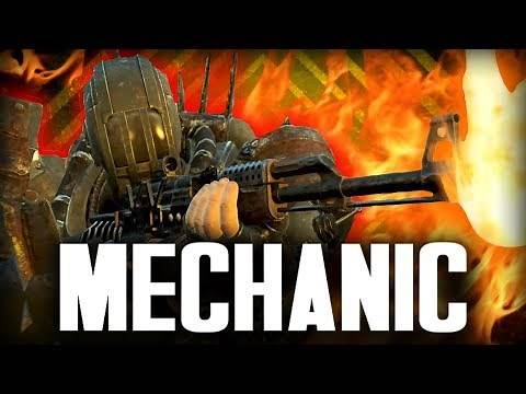 Fallout 4 Builds - The Mechanic - Robot Engineer Build