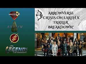 CRISIS ON EARTH X CROSSOVER TRAILER BREAKDOWN-DCTV ARROWVERSE- THE FLASH, ARROW, SUPERGIRL, LEGENDS