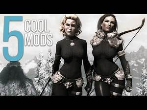 5 Cool Mods - Episode 24 - Skyrim: Special Edition Mods (PC/Xbox One)