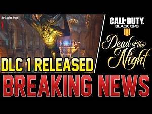 BLACK OPS 4 ZOMBIES DLC 1 MAP RELEASED EARLY - EASTER EGGS FOUND ! (Black Ops 4 Zombies)
