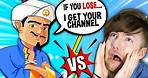THE AKINATOR WANTS TO STEAL MY CHANNEL