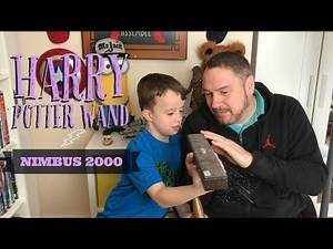 What does the Harry Potter Wand look like? | Reviewing Nimbus 2000 Broom
